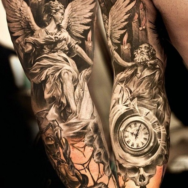 Angel tattoo designs and ideas12