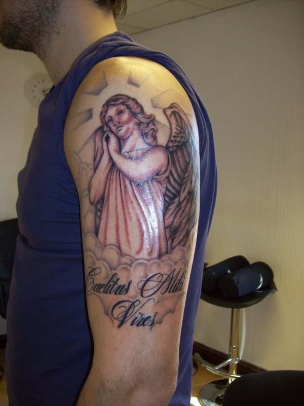 Angel tattoo designs and ideas15