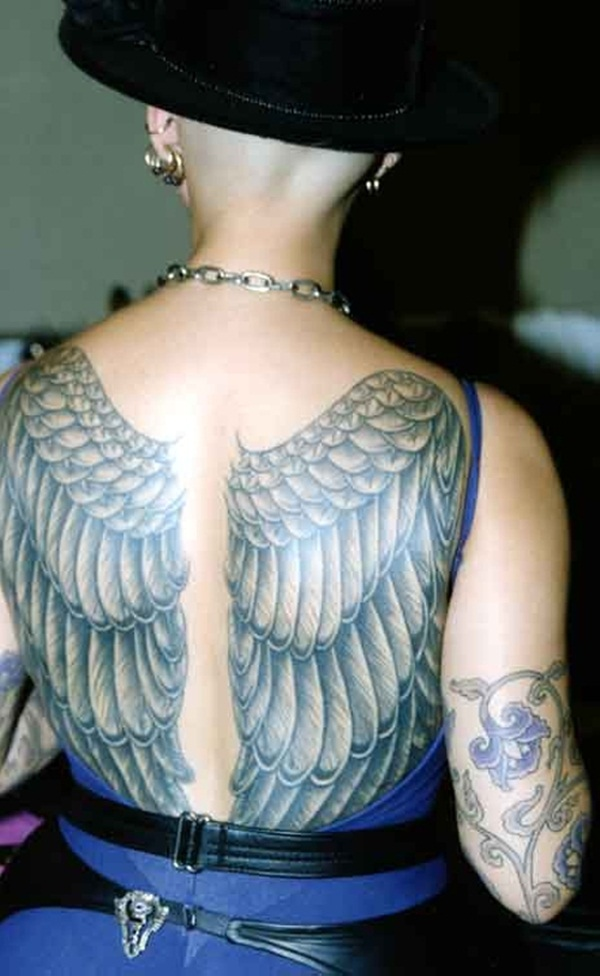 Angel tattoo designs and ideas60