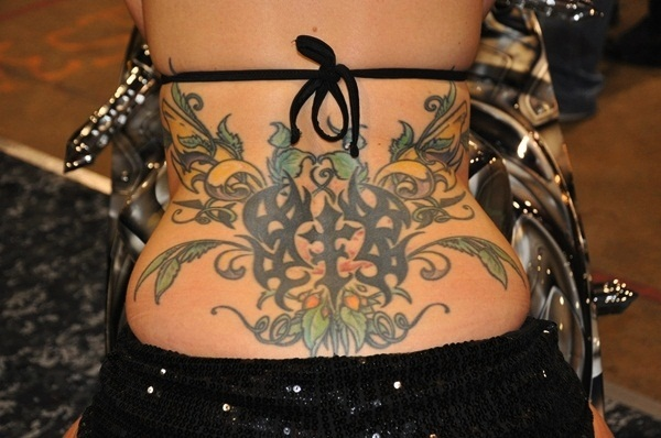 Lower back tattoo designs for women3