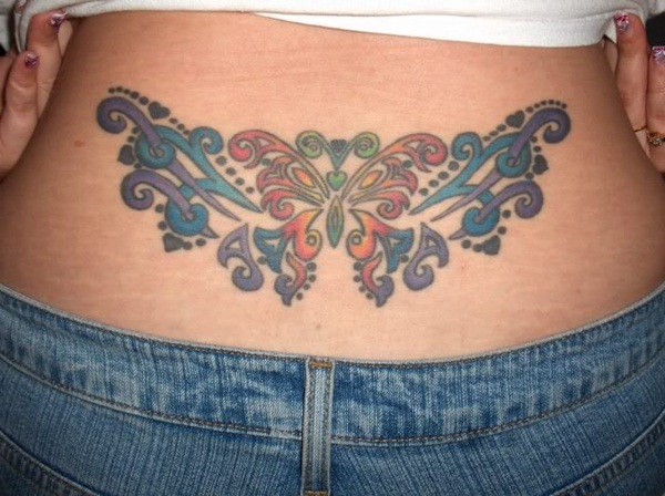 Lower back tattoo designs for women34