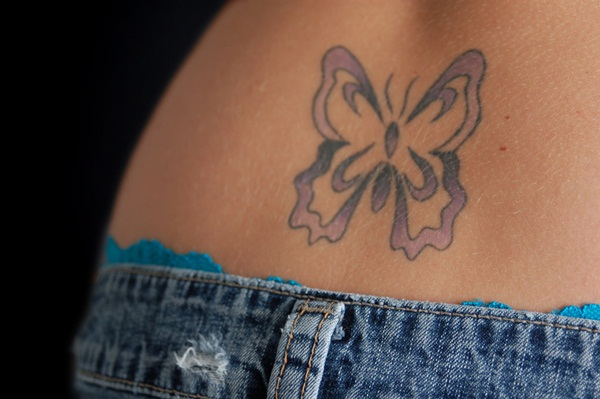 Lower back tattoo designs for women46