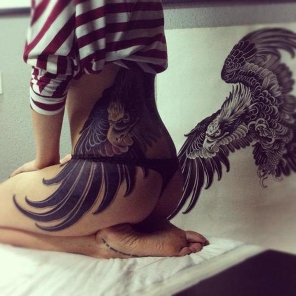 Lower back tattoo designs for women70