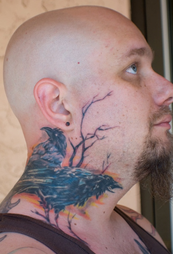 Neck Tattoo Designs and ideas24