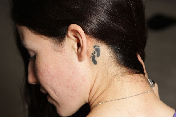 Neck Tattoo Designs and ideas33