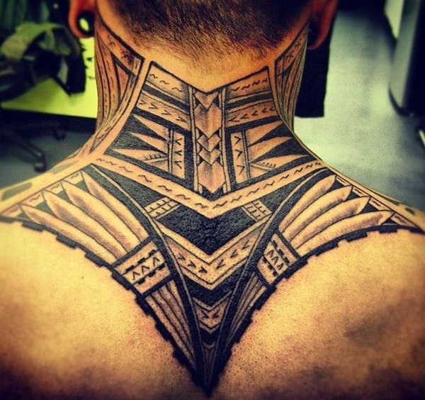 Neck Tattoo Designs and ideas36