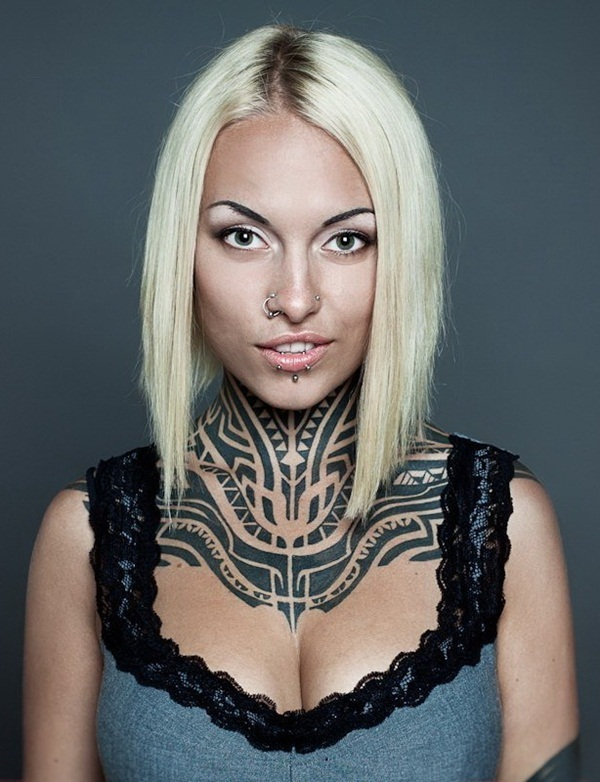 Neck Tattoo Designs and ideas44