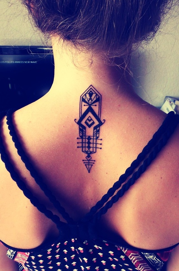 Neck Tattoo Designs and ideas48