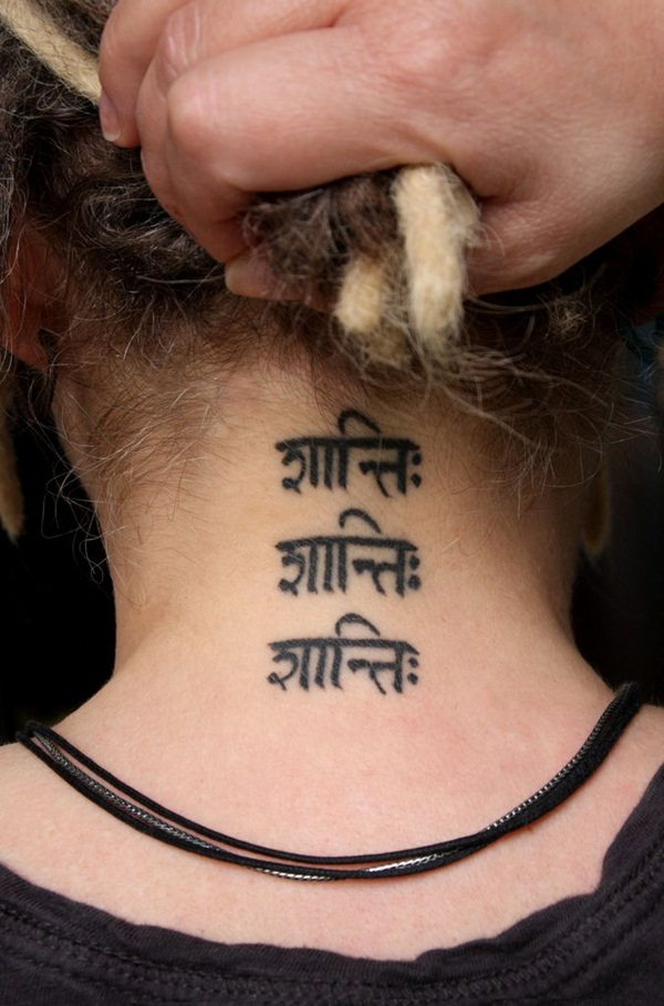 Neck Tattoo Designs and ideas55