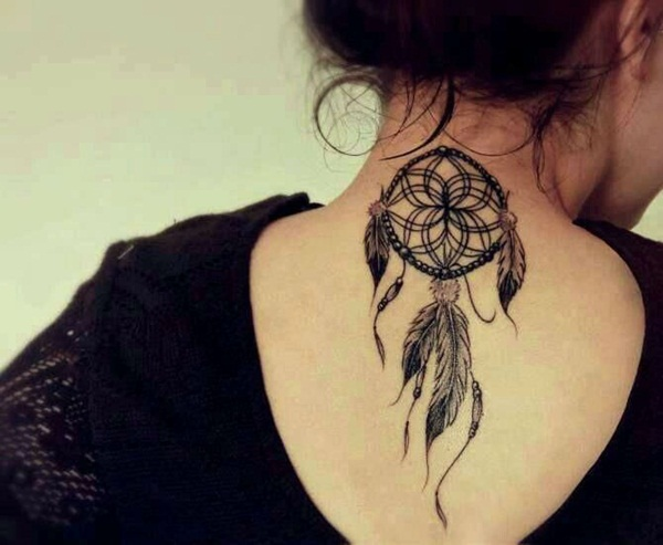 Neck Tattoo Designs and ideas57
