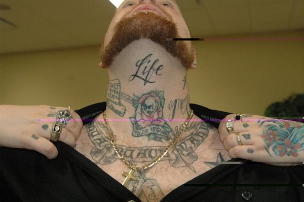 Neck Tattoo Designs and ideas68