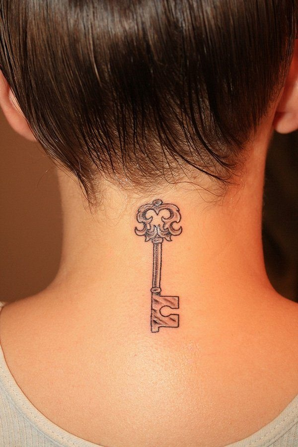 Neck Tattoo Designs and ideas7