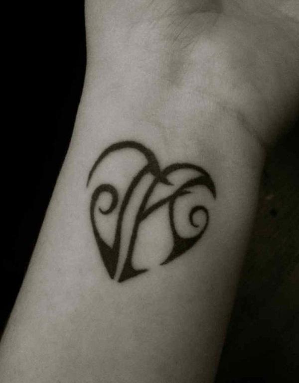 heart tattoo designs 44