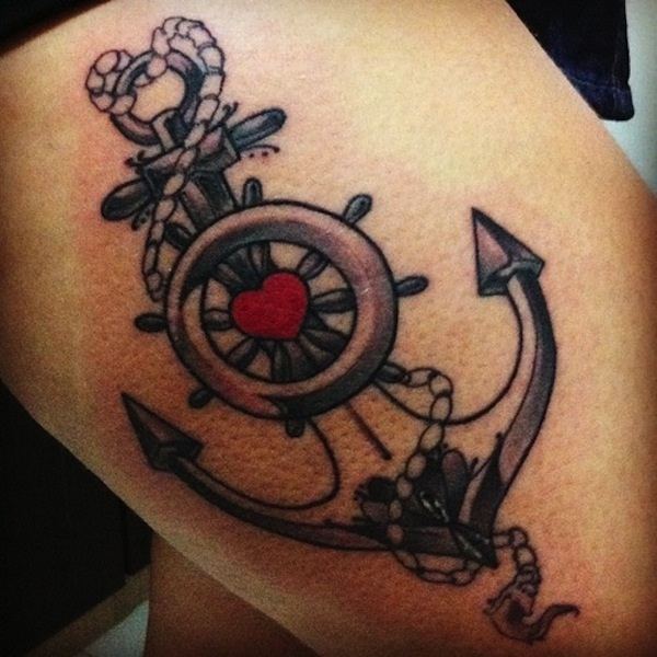 heart tattoo designs 47