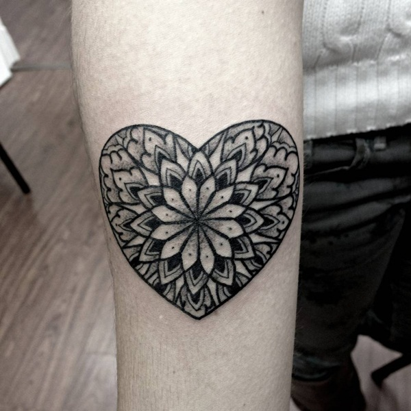 mandala tattoo designs for girls26