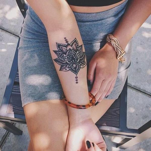mandala tattoo designs for girls28
