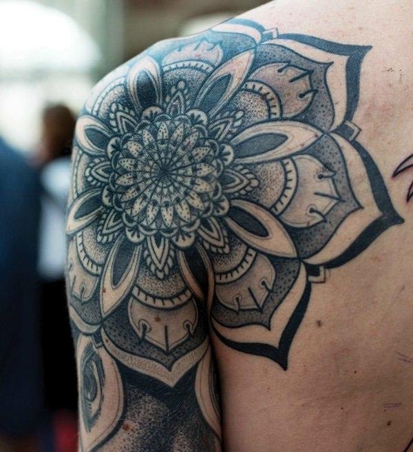 mandala tattoo designs for girls3