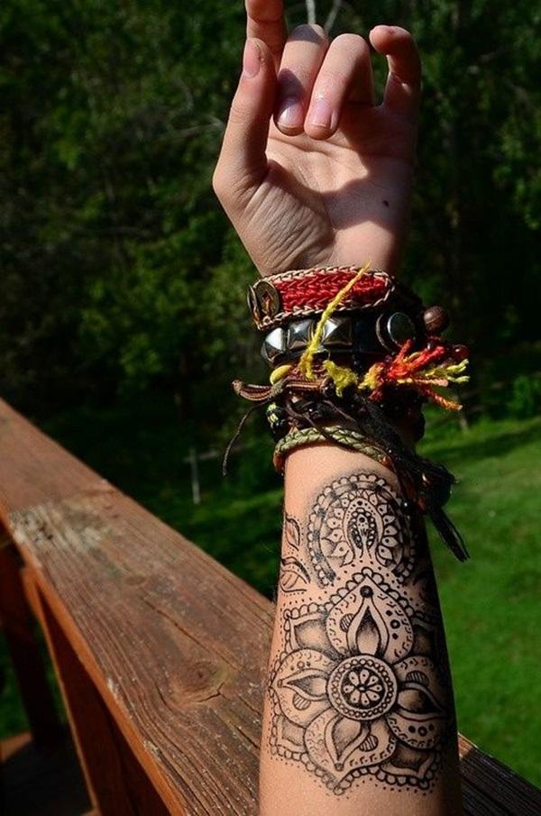 mandala tattoo designs for girls42