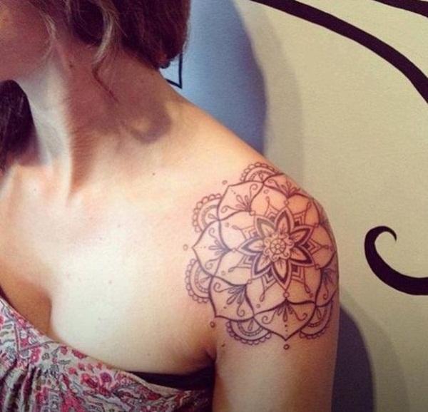 mandala tattoo designs for girls46