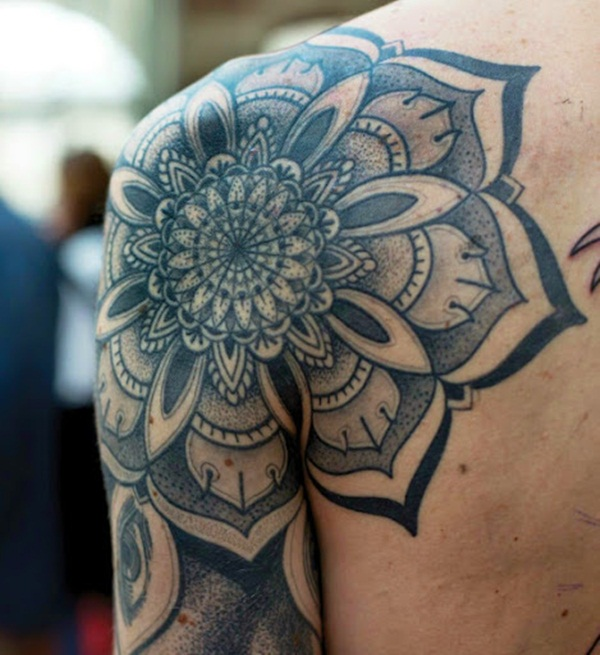 mandala tattoo designs for girls49