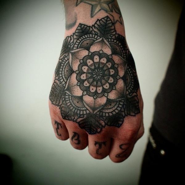 mandala tattoo designs for girls50