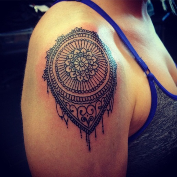 mandala tattoo designs for girls54