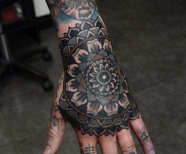 mandala tattoo designs for girls7