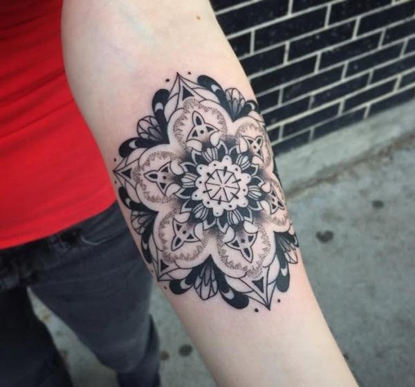 mandala tattoo designs for girls72