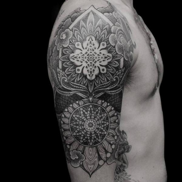 mandala tattoo designs for girls73