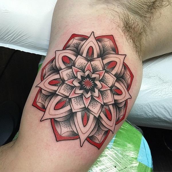 mandala tattoo designs for girls75