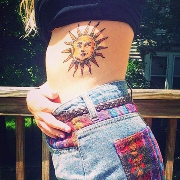 sexy sun tattoo designs 19