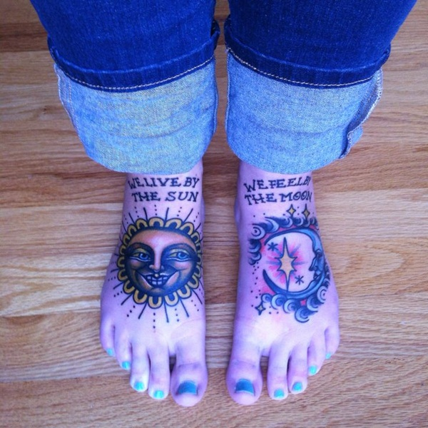 sexy sun tattoo designs 22