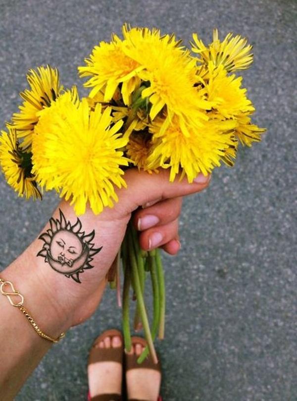 sexy sun tattoo designs 48